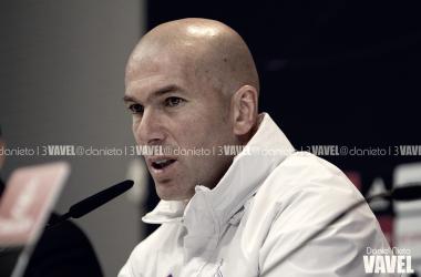 """Zidane: """"La derrota del Barça no hace mejor la temporada del Madrid"""""""