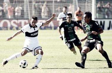 El Lobo no tuvo una buena tarde en San Juan y se aleja de la Sudamericana. Foto: Web