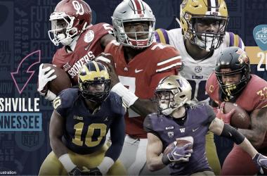 prospectos elegidos en el Draft 2019 (foto NFL.com)