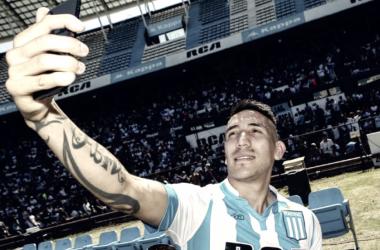 Centurión está pasando un gran momento en Avellaneda y quiere ganarse un lugar entre los 23 rumbo al Mundial.