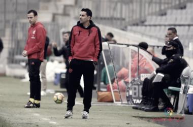 Michel durante el encuentro en Córdoba. Foto: La Liga