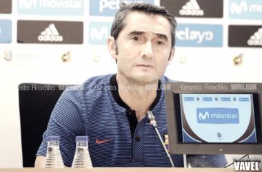 """Ernesto Valverde: """"Hay que acertar, no solo generar peligro"""""""