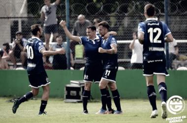 Gimnasia va por otro triunfo en la Superliga. Foto: Gimnasia web