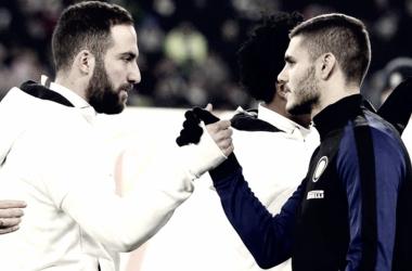 Higuaín e Icardi, enemigos íntimos | Foto: Eurosport