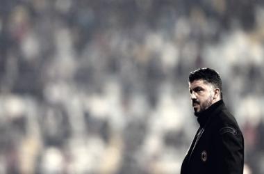 Gattuso durante un partido / Foto: Milan