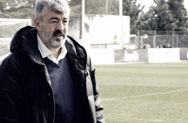 Óscar Fernández, satisfecho tras el empate frente al Castilla/ Fuente: Atlético de Madrid