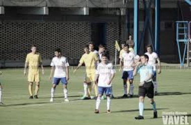 Partido entre el Deportivo Aragón y el Robres.