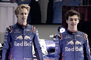 Hartley en un acto con Toro Rosso | Foto: Flickr EUPARO