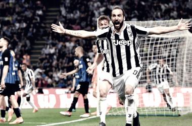 Higuaín celebra el gol que puede valer un Scudetto | Foto: Juventus FC