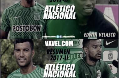 Resumen Atlético Nacional 2017-II: Christian Mafla y Edwin Velasco, más lesiones y errores que aciertos
