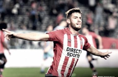 Lucas Melano, sinónimo de gol. Foto: Prensa Estudiantes