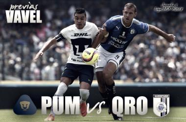Pumas vs Querétaro: realidad en aumento