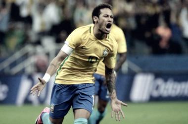Neymar tiene 71 goles con la camiseta de Brasil   Foto: Líbero