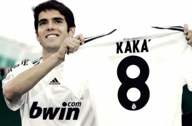 Kaká en su presentación con el Real Madrid | Foto: Real Madrid