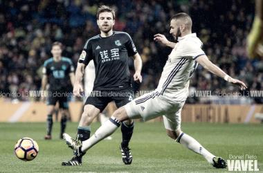 Illarramendi y Benzema en un partido de la pasada temporada | Imagen: Daniel Nieto (VAVEL)