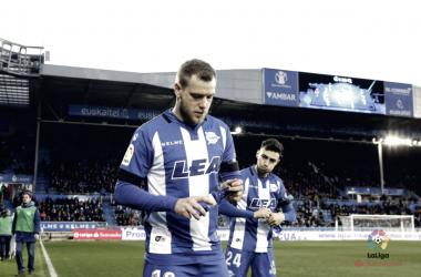 Guidetti y Munir en el partido ante el Deportivo de la Coruña |FOTO: LaLiga