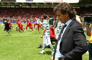 Romano fue superlíder con Cruz Azul en 2005, pero fue hasta 2010 cuando estuvo más cerca de ser campeón con Santos Laguna (Foto: Medio Tiempo)
