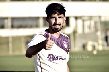 Víctor Armero, jugador del Real Jaén (FOTO: Real Jaén)