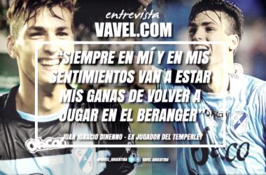 Juan Ignacio Dinenno vive un gran momento profesional en el Deportivo Cuenca y le gustaría volver a Temperley. Foto | VAVEL