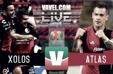 Resultado y goles del Xolos 2-2 Atlas en Liga MX 2018