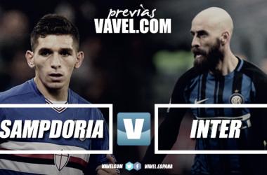 Previa Sampdoria - Inter: en busca de tres puntos de Europa