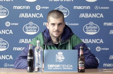 """Rubén Martínez: """"Es el partido más importante hasta ahora"""""""