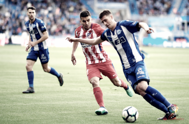DIéguez y Pedraza volvieron al once ante el Atlético | FOTO: LaLiga