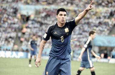 Pérez siempre aportó su buena experiencia y se entiende en la cancha con Messi. Foto: El Ciudadano