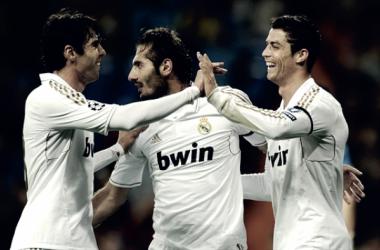El Real Madrid en la victoria por 3-0 en Nicosia | Foto: UEFA