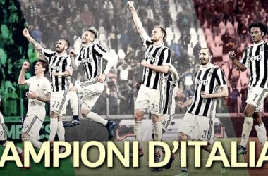 La Juve conquista el Scudetto / Foto: Serie A TIM