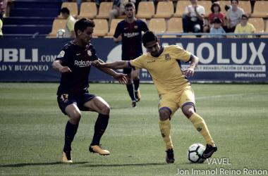 Jonathan Pereira: ''Ante el Sevilla Atlético tenemos que sacar a relucir nuestra experiencia''