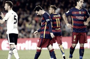Los últimos precedentes de los Barça-Valencia