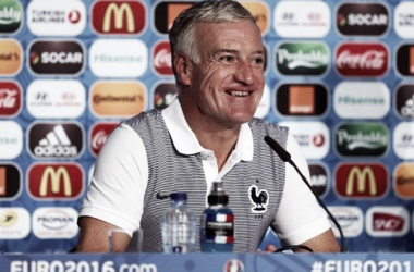 Deschamps praises Albania and Payet ahead of second Euro 2016 game