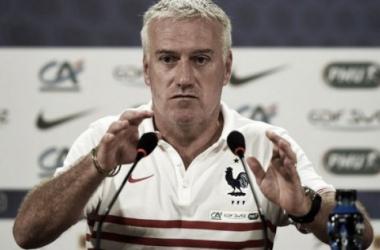 En la imagen, el ISIS amenaza al seleccionador francés, Didier Deschamps / Fuente: selección francesa
