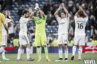 Jugadores del Real Madrid. Foto: Dani Mullar. Fuente: Vavel