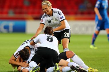 Sem dificuldades, Alemanha vence a Islândia por 3 a 0 pela Euro feminina