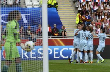 Em partida acirrada, França vence a Espanha pela Euro feminina