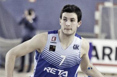 Xabi Oroz con el Gipuzkoa Basket I Fotografía: Gipuzkoa Basket