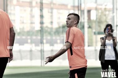 Solo tres jugadores en el entrenamiento del FC Barcelona