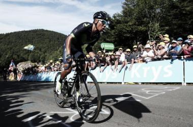 Rigoberto Urán fue segundo en la etapa 12 del Tour y Nairo pierde más tiempo ante Froome