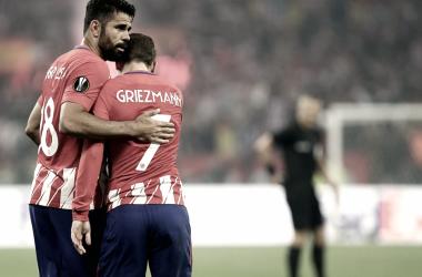 Puntuaciones por posición del Atlético de Madrid: delanteros