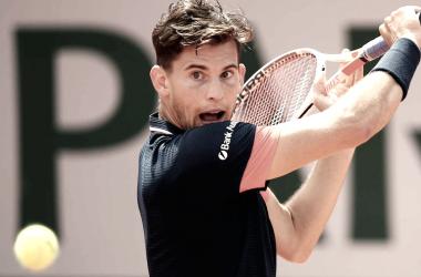 Thiem avanza por tercera vez consecutiva a los cuartos de final en París. | Foto: Prensa ATP.