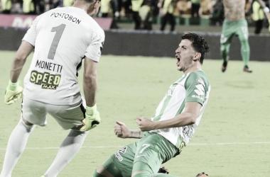 Gonzalo Castellani fue el encargado de mandar a Atlético Nacional a su final número 13 en torneos cortos. | Foto: AS Colombia