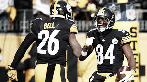 Bell y Brown en su tiempo en Pittsburgh (FOTO: Steelers.com)