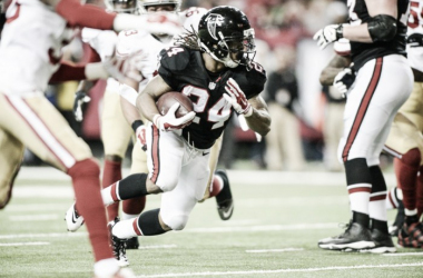 Devonta Freeman had a big day for the Falcons | Source: atlantafalcons.com