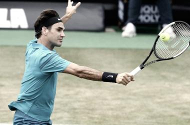 Federer disputará su primer final en Sttutgart.   Foto: Prensa ATP.