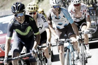 Nairo Quintana vuelve al top 10 de la general en el Tour de Francia