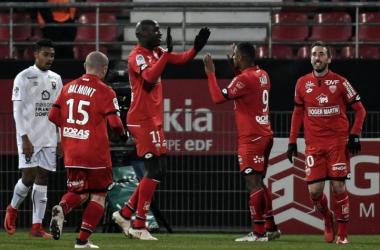 27e journée : Dijon - Caen (2-0)