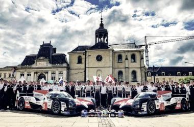Pilotos y coches del equipo Toyota Gazoo Racing | Foto @Toyota_Hybrid