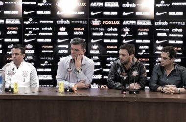 Comandante já estará à frente do time na próxima quinta-feira, pela Libertadores (Foto: Divulgação/Agência Corinthians)